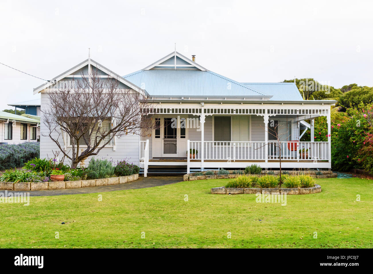 typical australian house in the coastal country town of augusta western JFC0J7 - Get Pictures Of Australian House  Background