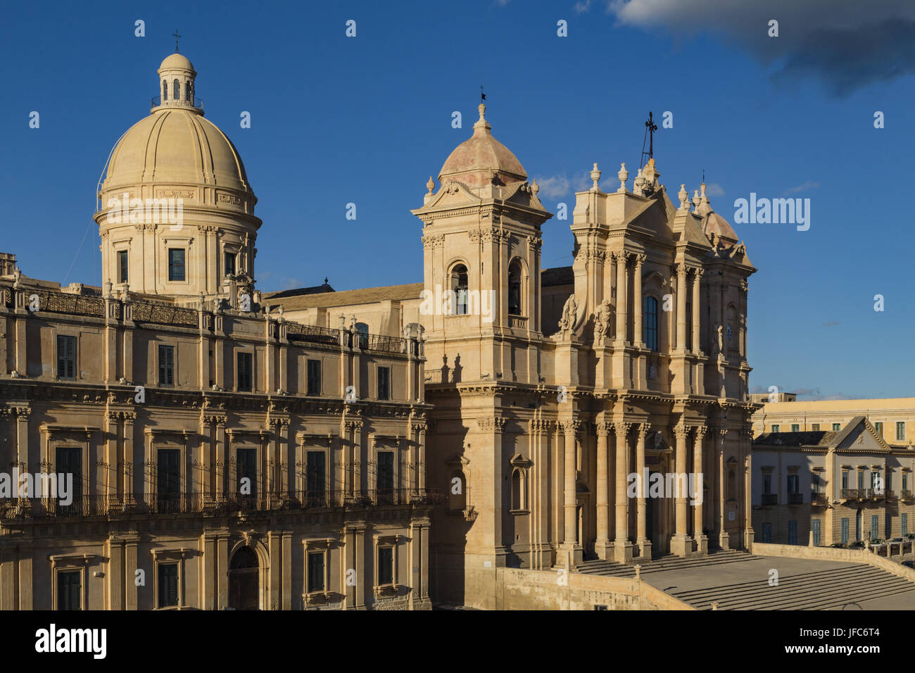 Noto Cathedral, Sicily - Stock Image