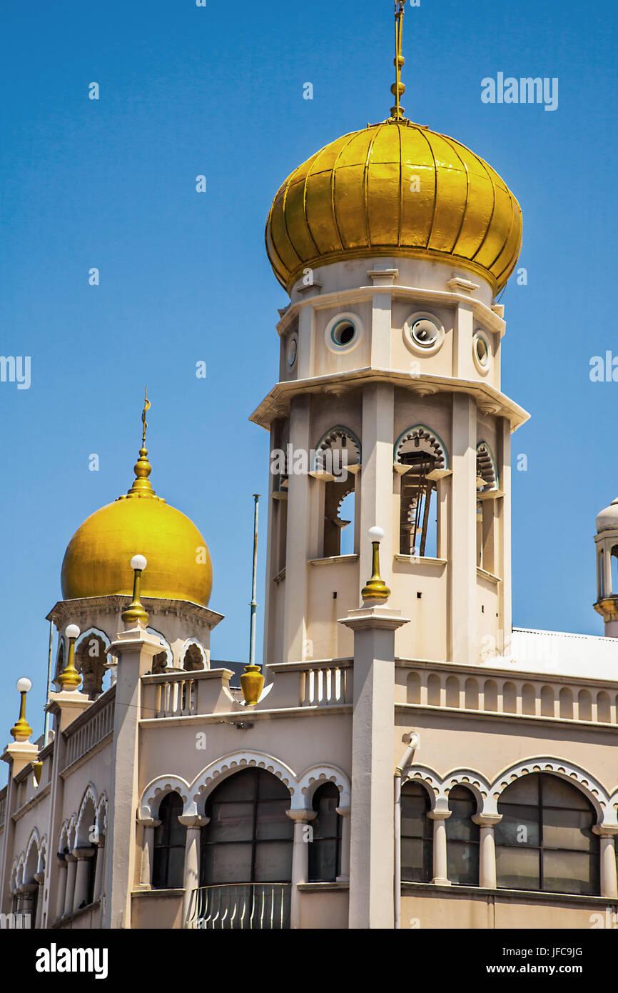 Juma Masjid Mosque in Durban South Africa - Stock Image