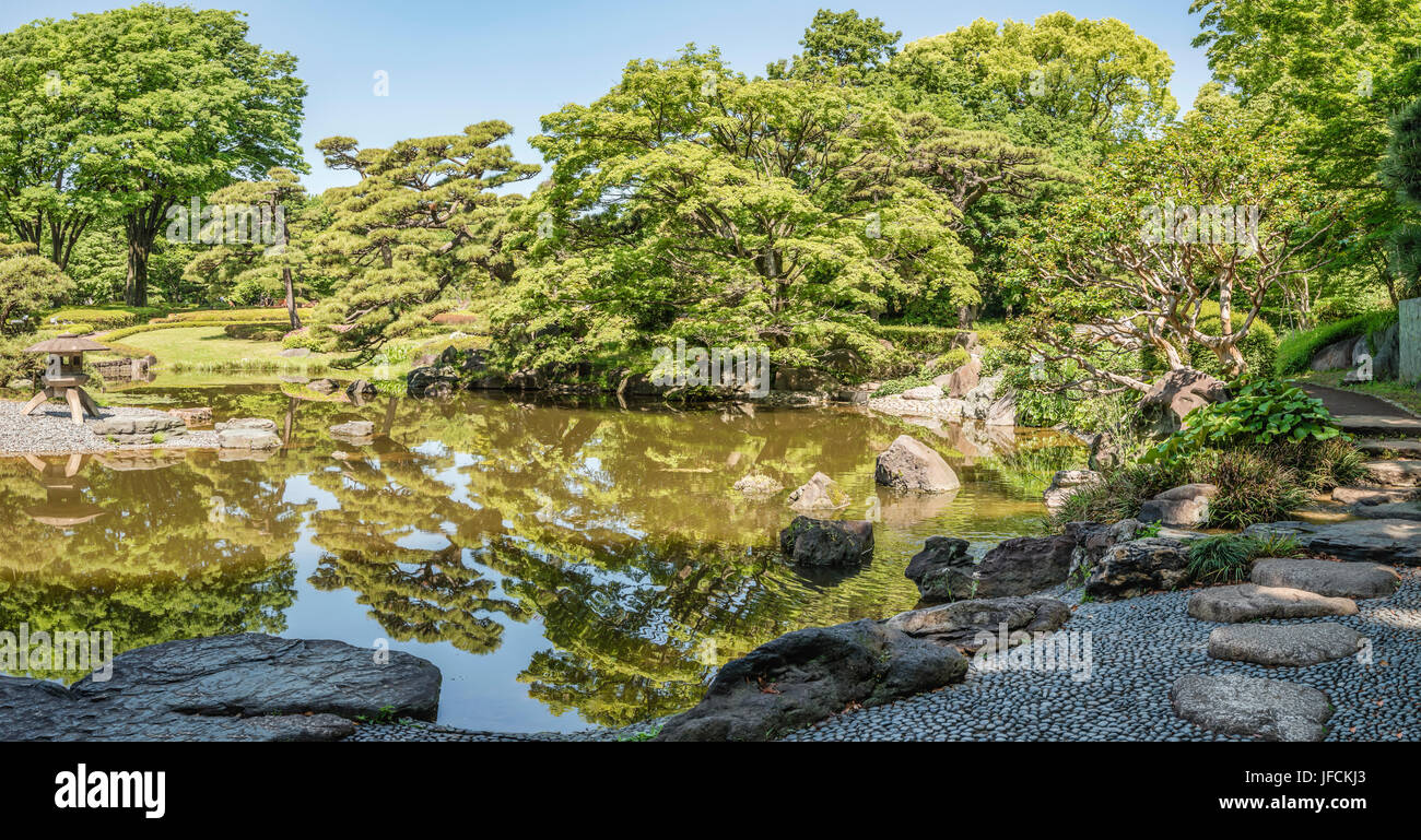 Ninomaru Garden at the East Gardens of the Imperial Palace, Tokyo, Japan | Ninomaru