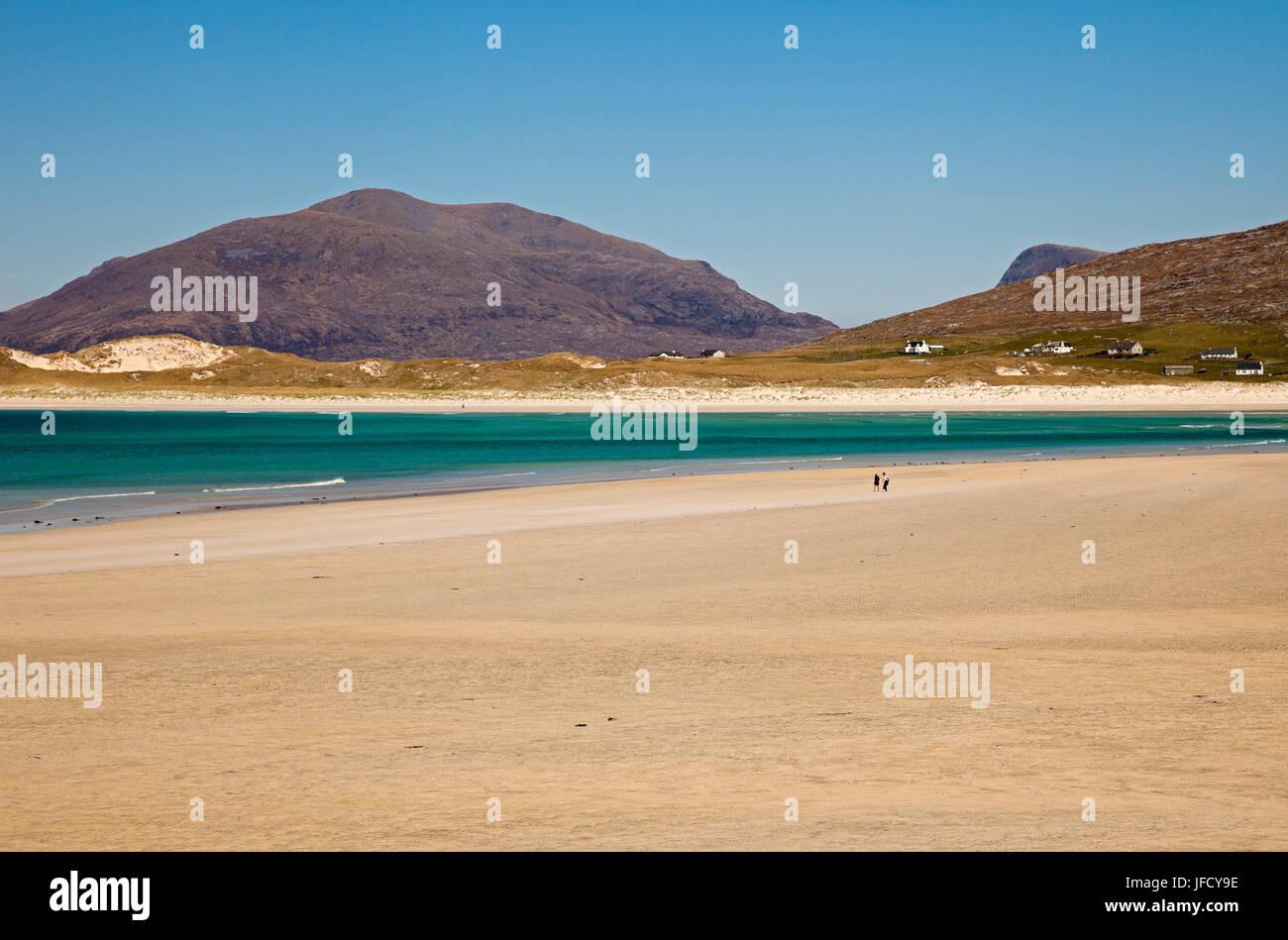Isle of Harris, beach, outer Hebrides, Scotland Stock Photo