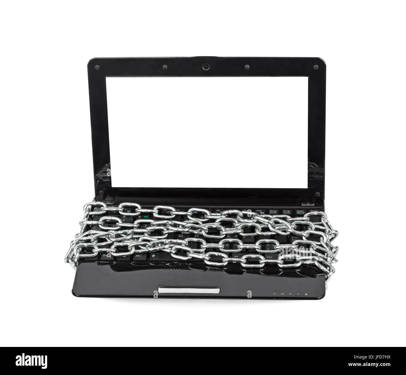 Notebook and chain - Stock Image