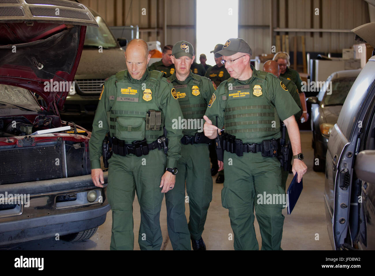 Acting Deputy Commissioner Ronald Vitiello visited the U S