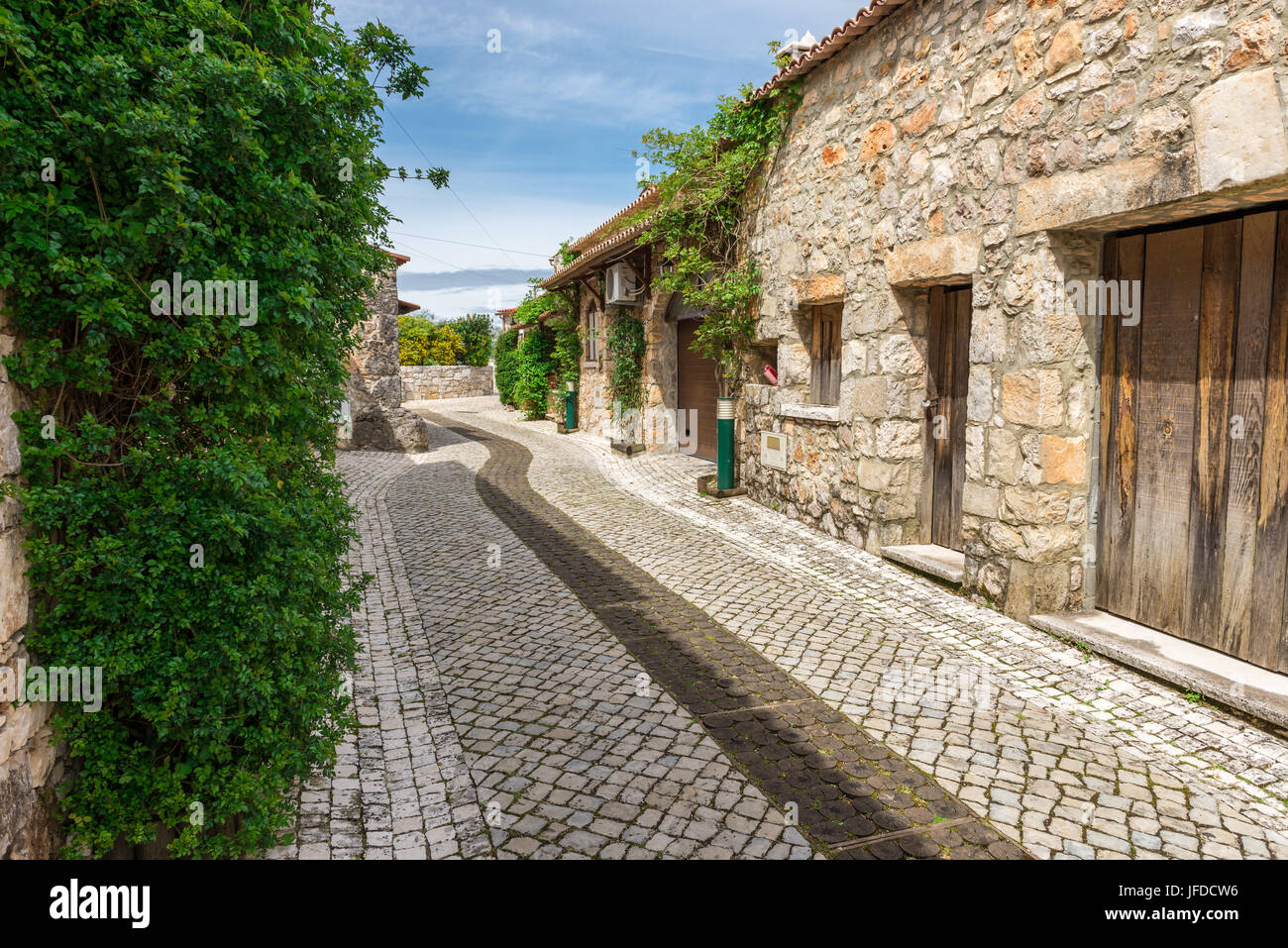 Pia do Urso village, Fatima, Portugal Stock Photo