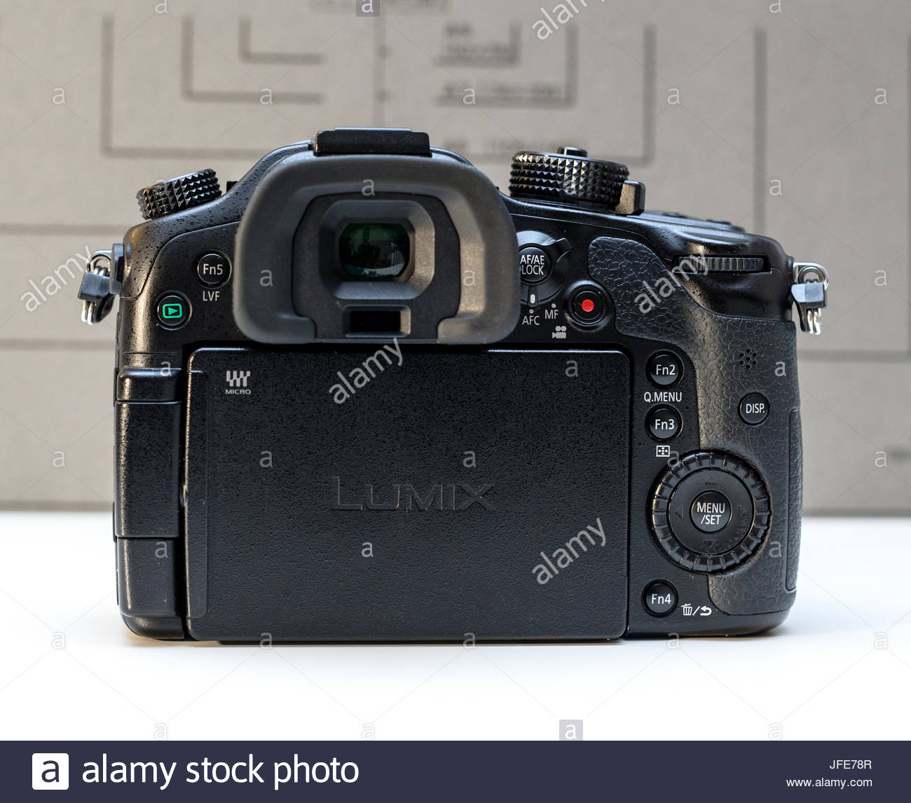 Panasonic Lumix DMC-GH4  mirrorless camera - Stock Image