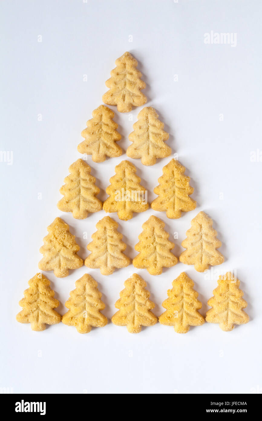 M S Christmas Shortbread Mini Trees Perfect All Butter Festive