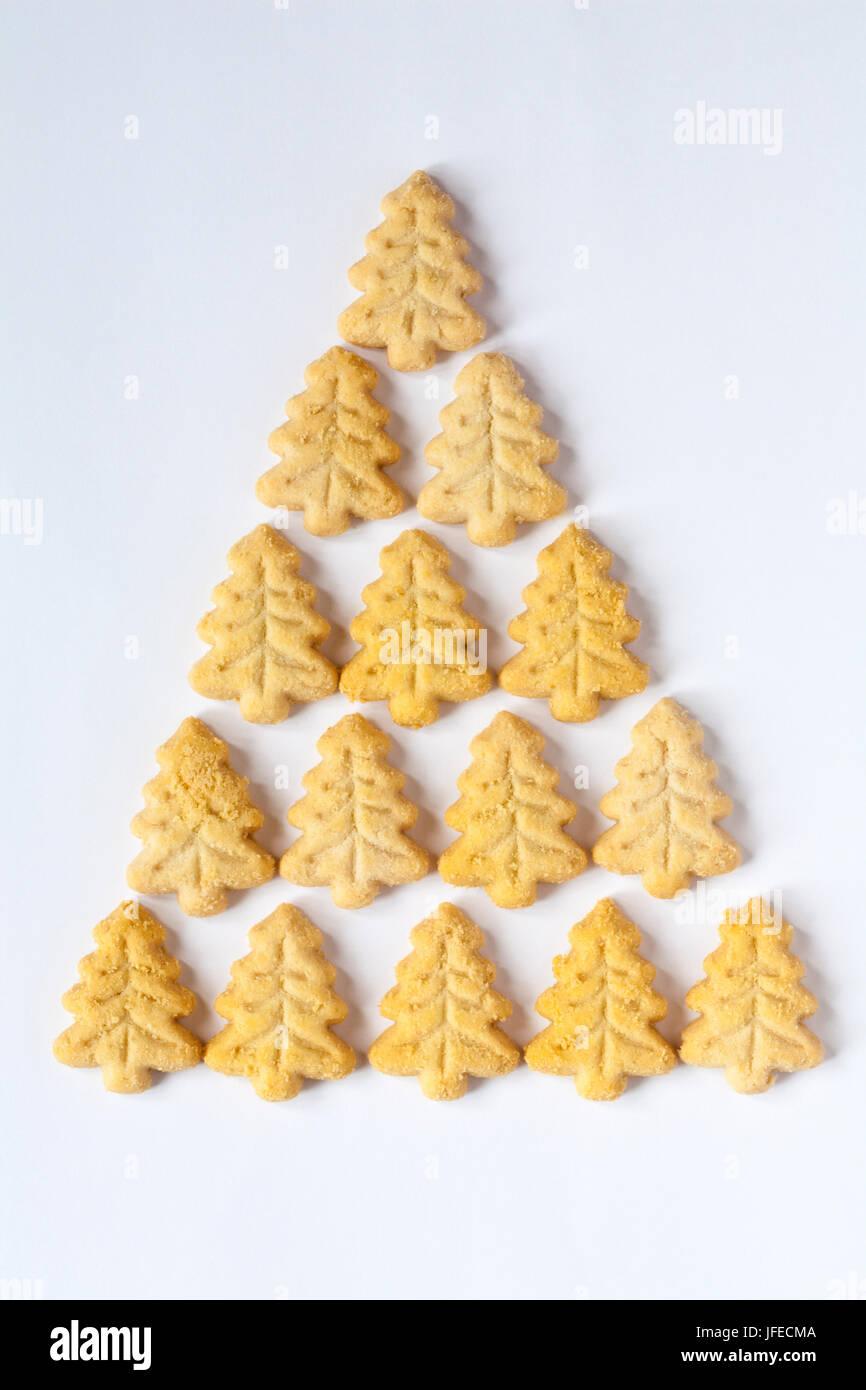 M&S Christmas shortbread mini trees perfect all butter festive ...