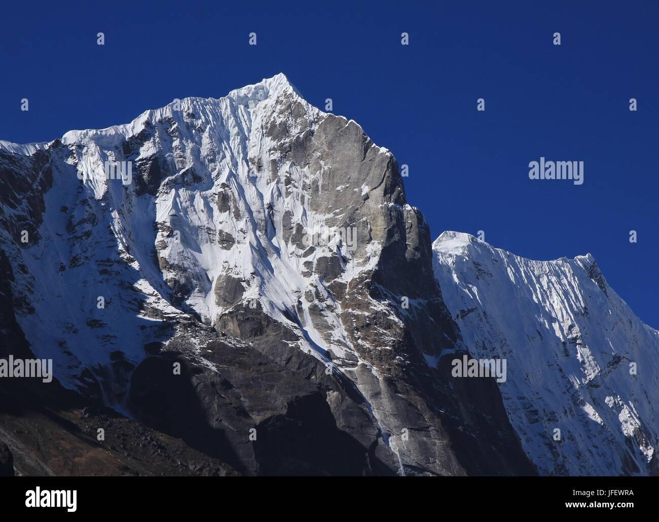 Bigphera Go Sha, mountain near Thame - Stock Image