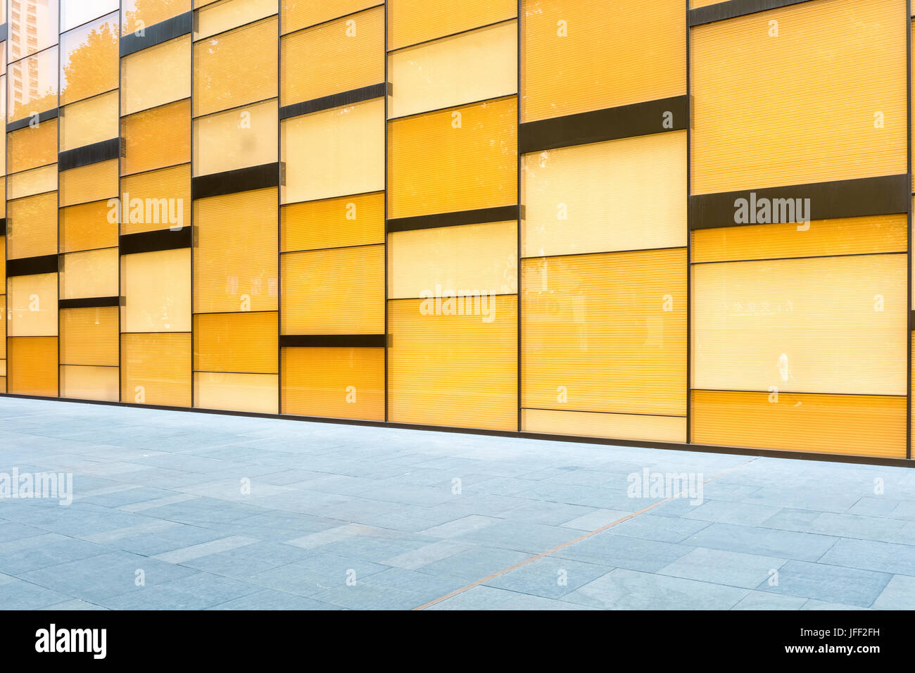glass curtain wall background Stock Photo