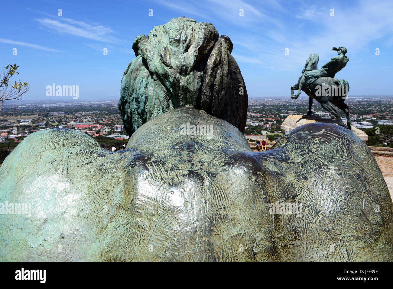 Rhodes Memorial - Stock Image