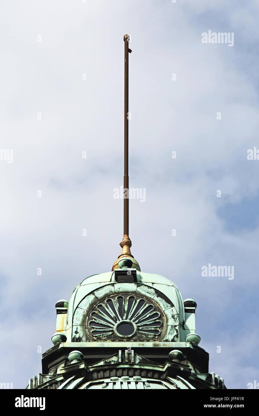 Flagpole - Stock Image