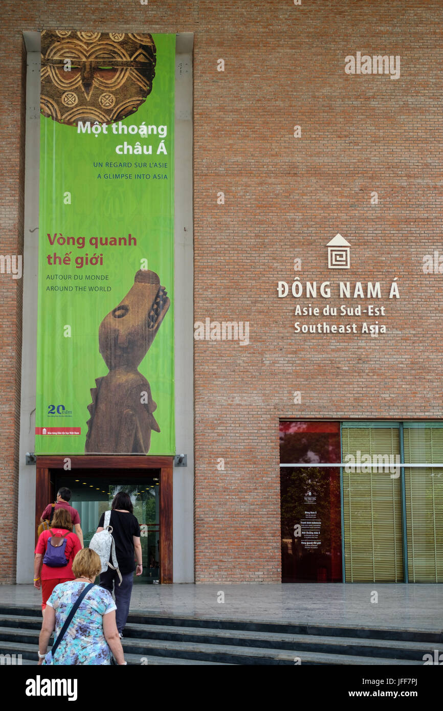 Museum of Ethnology in Hanoi, Vietnam, Asia - Stock Image