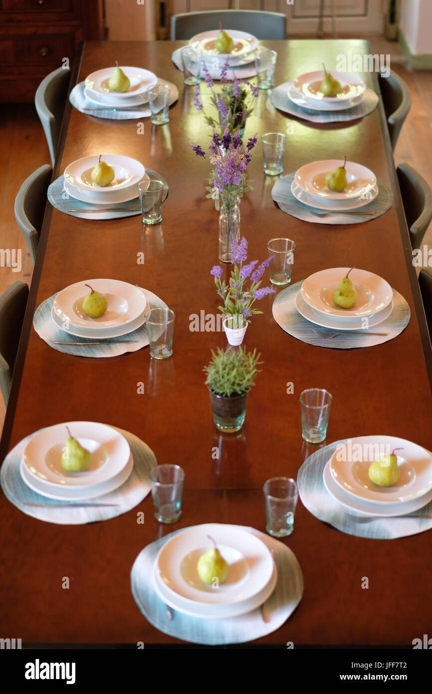 Dining Table From Above High Resolution Stock Photography And Images Alamy