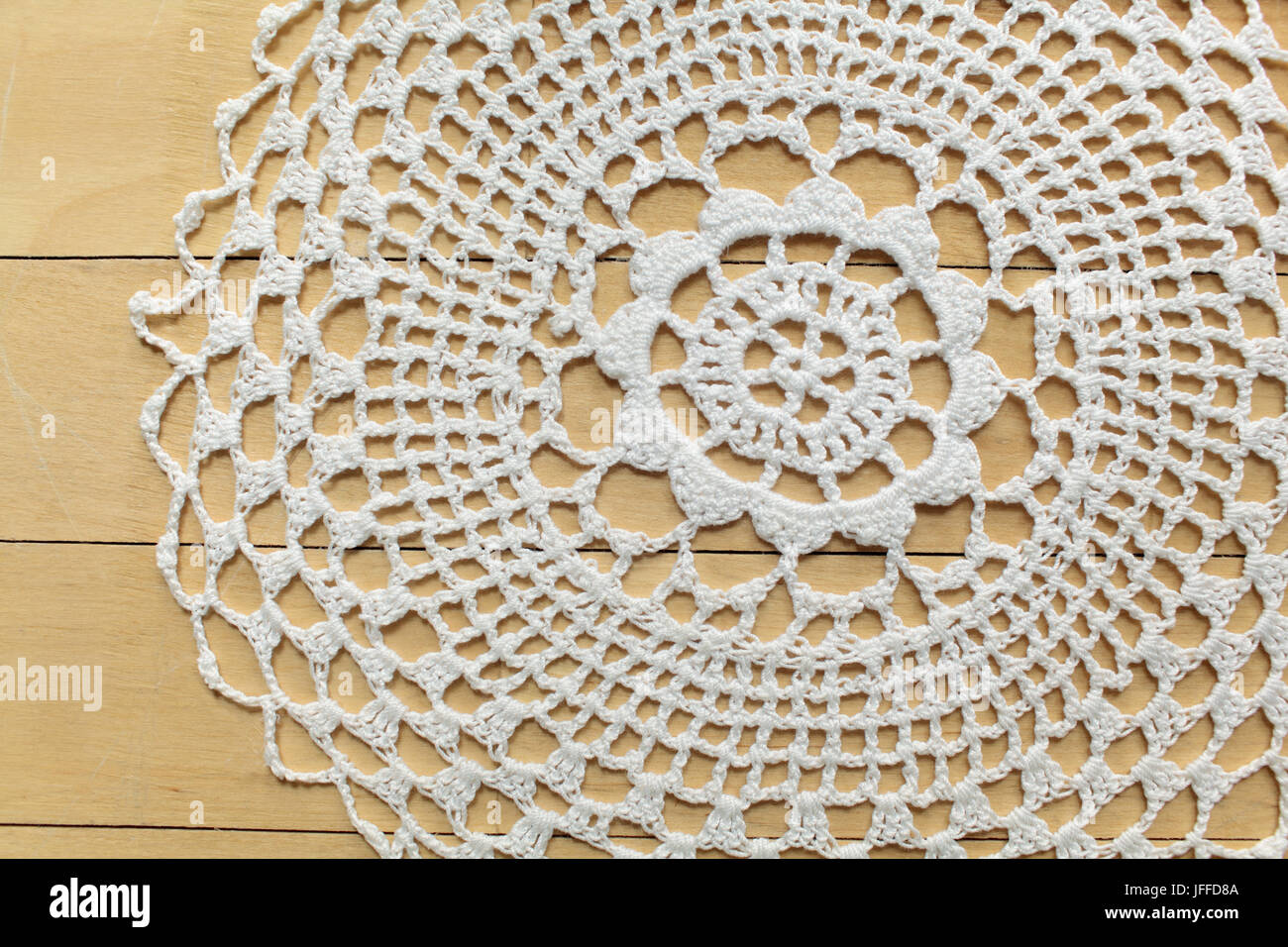 Lace openwork pattern - Stock Image