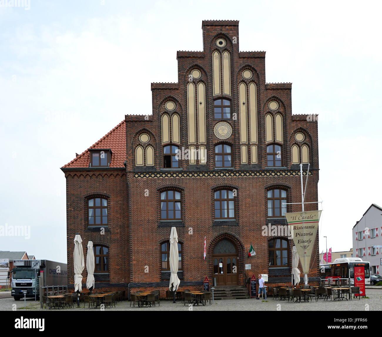 Wismar, Mecklenburg - Vorpommern, Germany - Stock Image