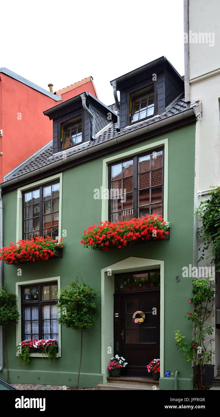 Wismar, Mecklenburg - Vorpommern, Germany Stock Photo