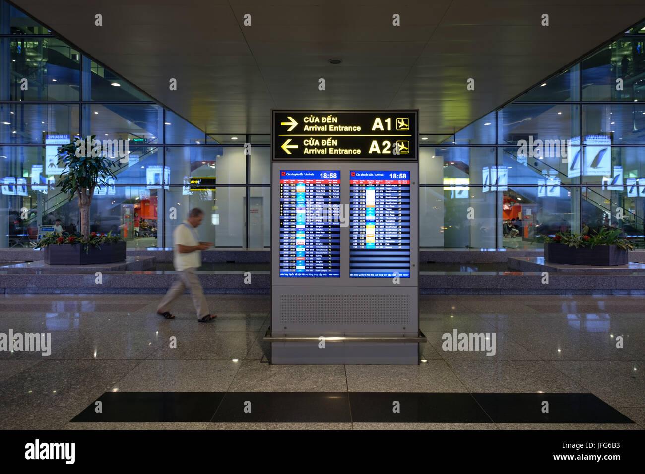 Noi Bai Hanoi International Airport, Vietnam, Asia - Stock Image