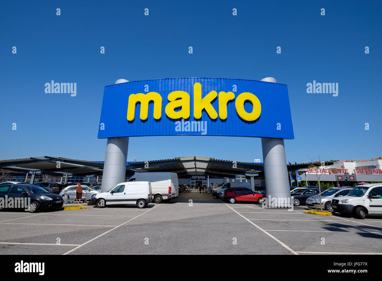 Makro retail store - Stock Image
