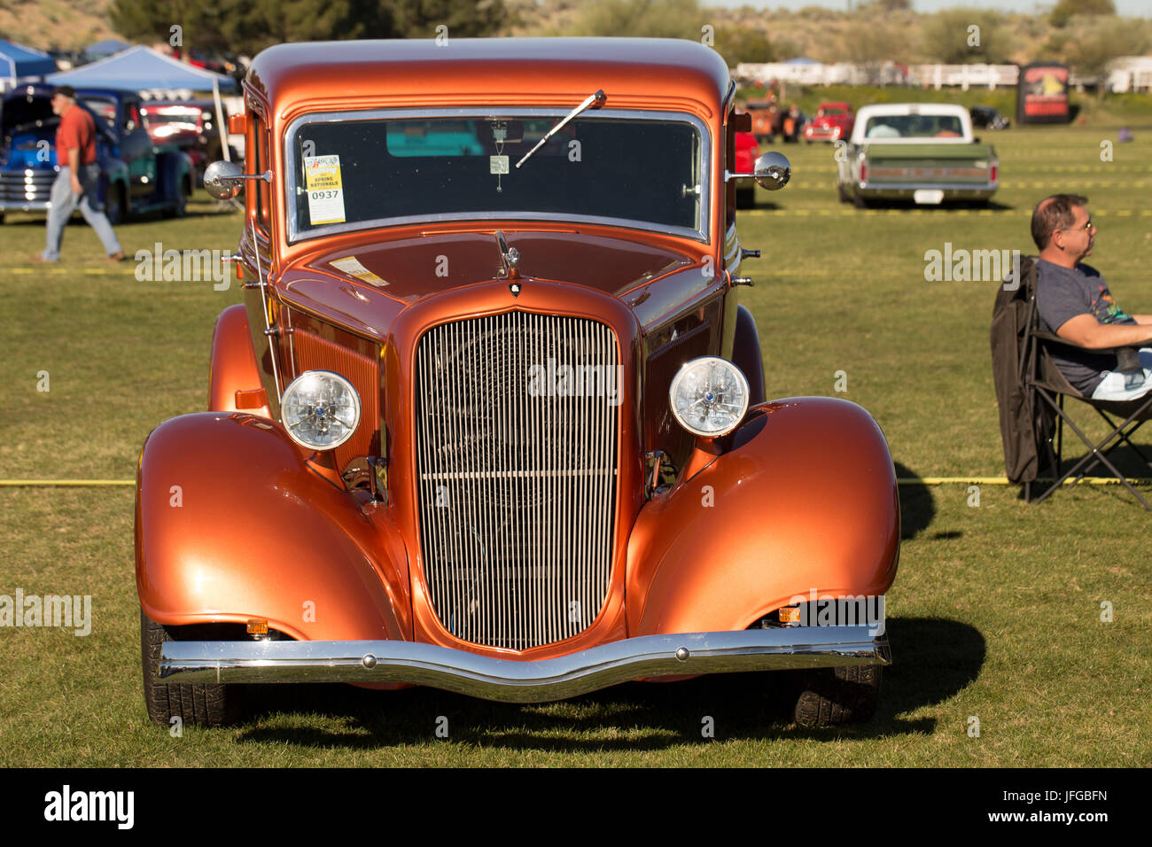 Scottsdale Car Show Stock Photo Alamy - Scottsdale classic car show