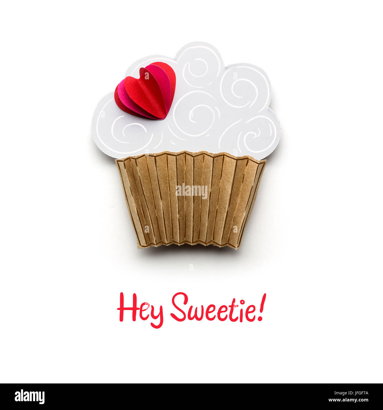 Hey sweetie. - Stock Image
