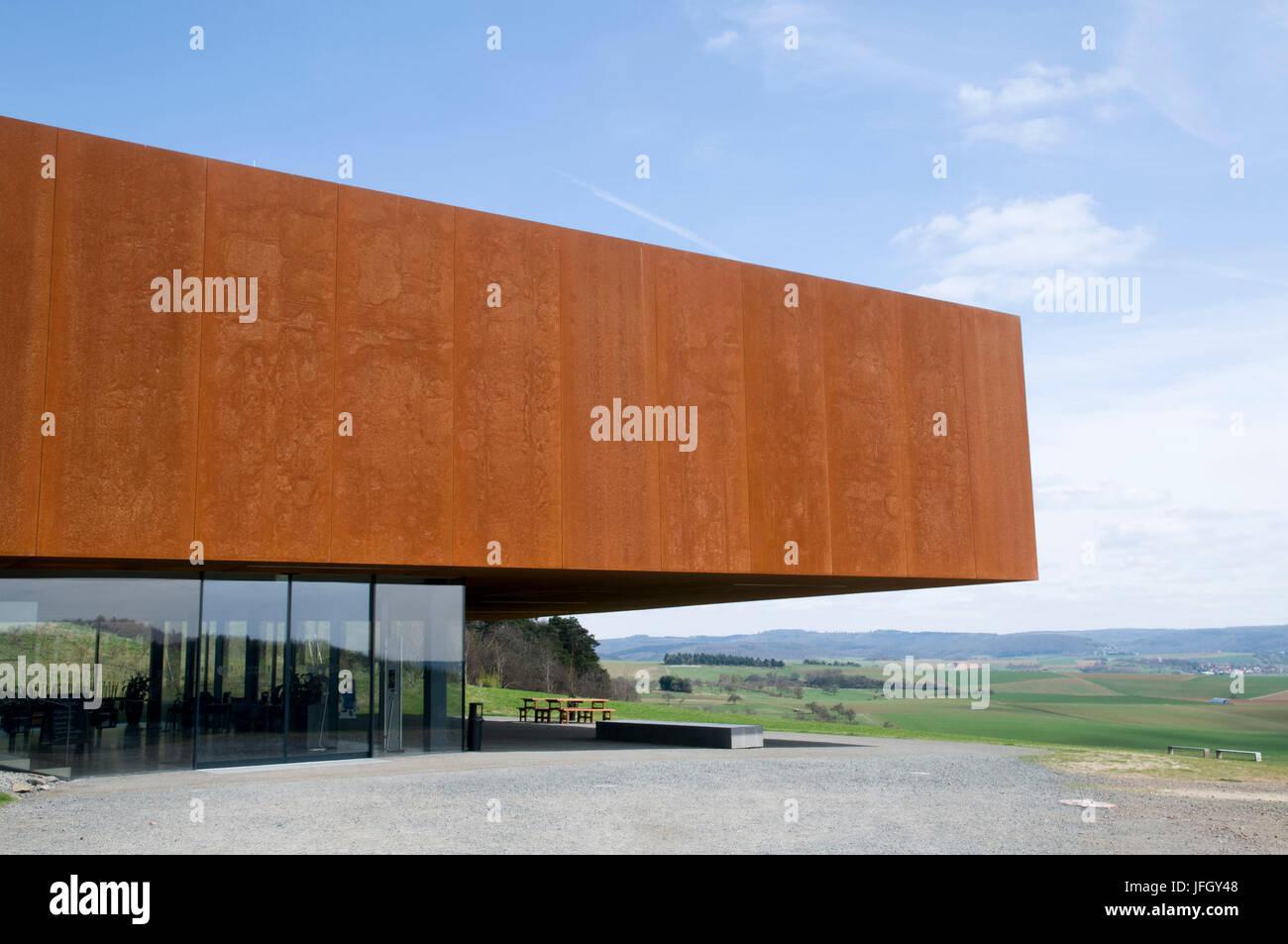 Celtic world Glauberg, Vogelsberg, Hessen, Germany - Stock Image