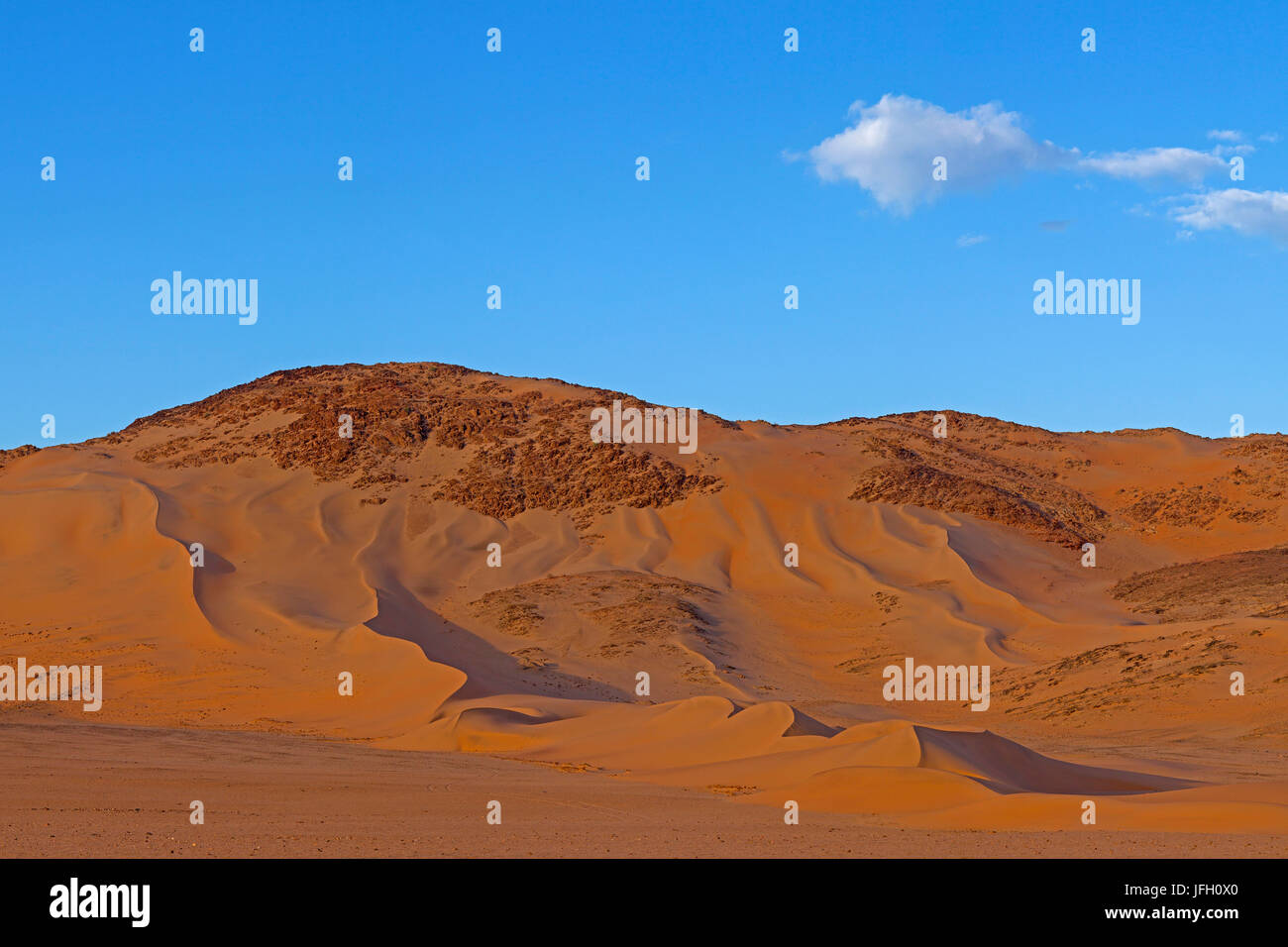 Dunes in the rock, Hartmannstal, north west, Namibia, on the boarder to Angola - Stock Image