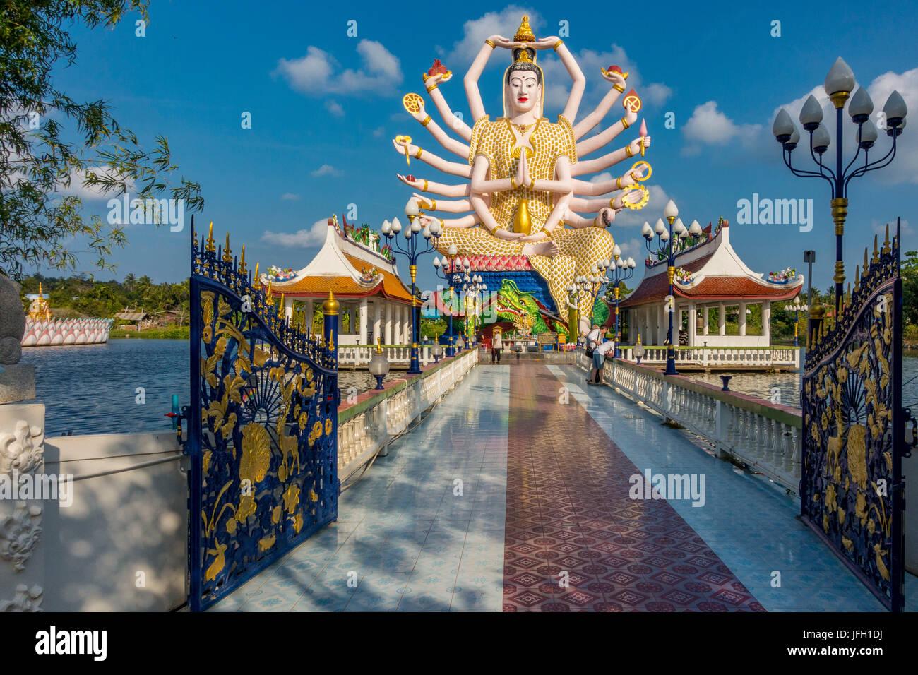 God Lao Suwannaram temple in Ban Bo Phut, Ko Samui island, Thailand, Asia Stock Photo