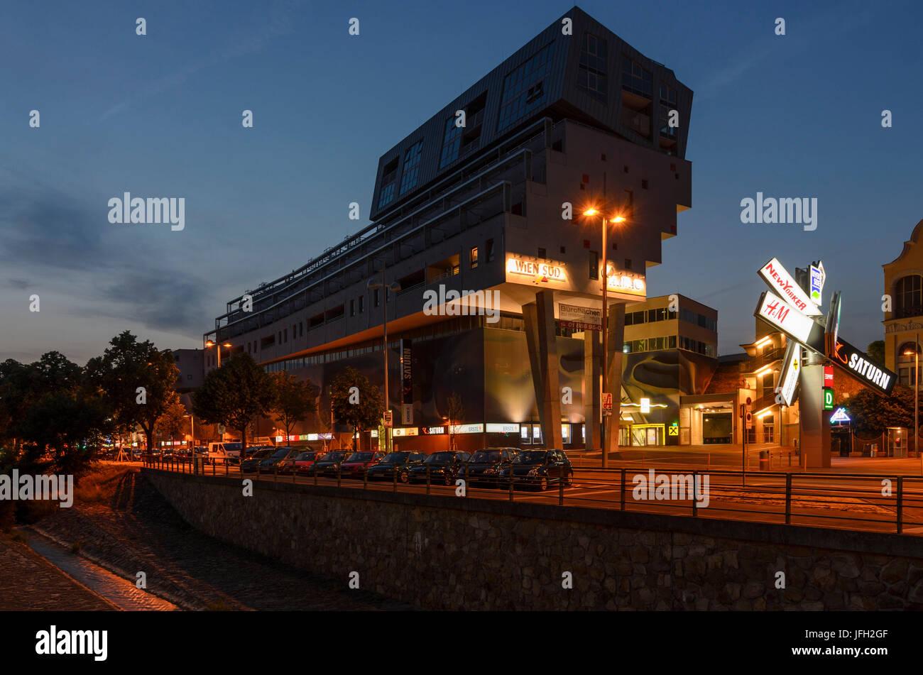 Shopping centre Riverside, Austria, Vienna, 23., Vienna - Stock Image
