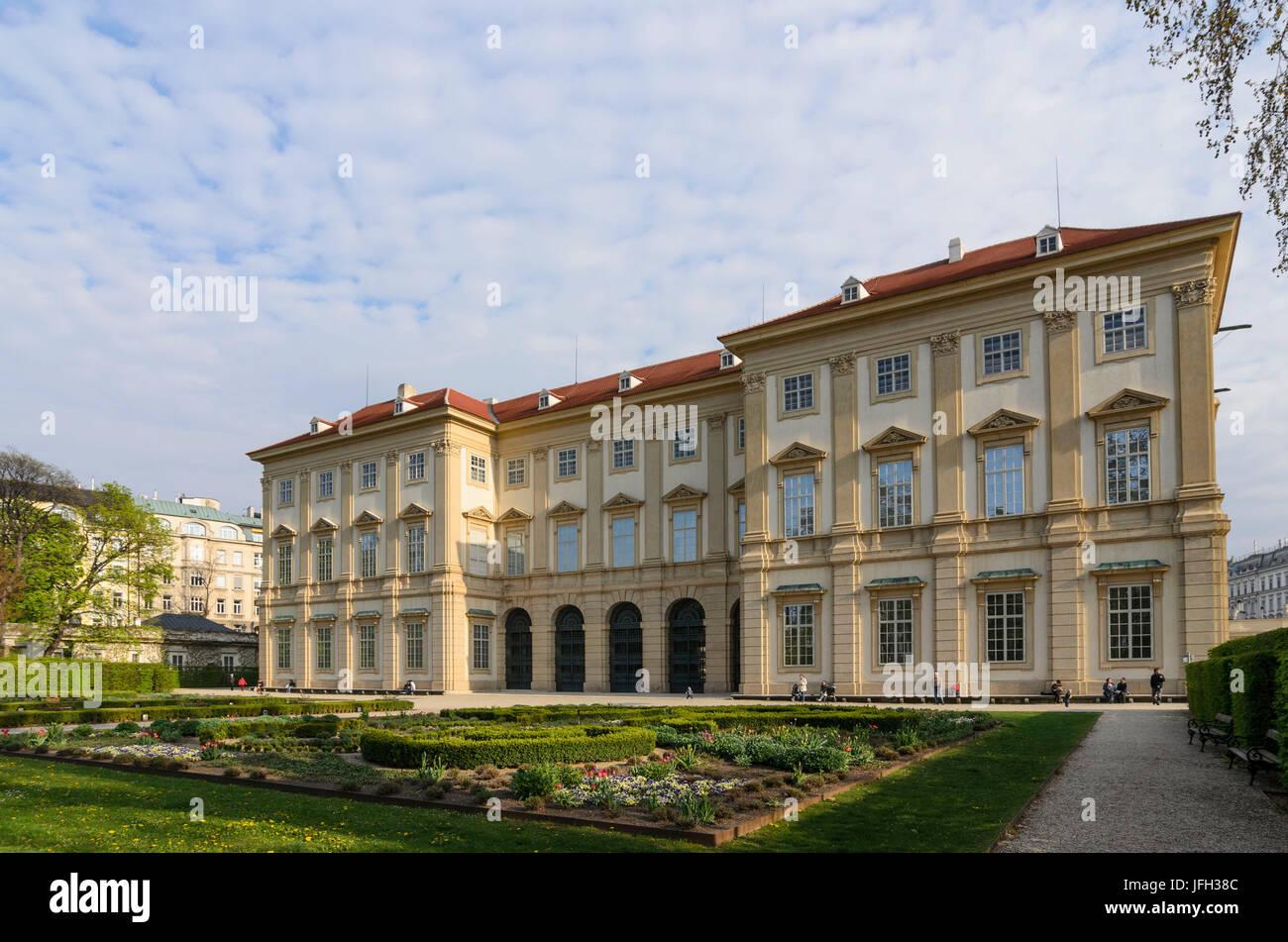 Palace of Liechtenstein (garden palace), Austria, Vienna, 09., Vienna - Stock Image
