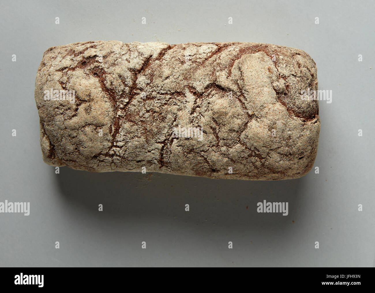 Rustic bread loaf Stock Photo