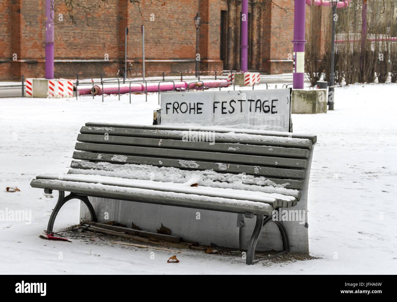 depressive Weihnachten - Stock Image