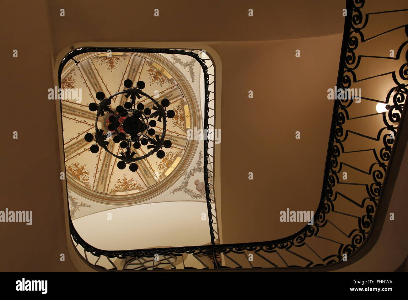 Staircase eye interior architecture Stock Photo