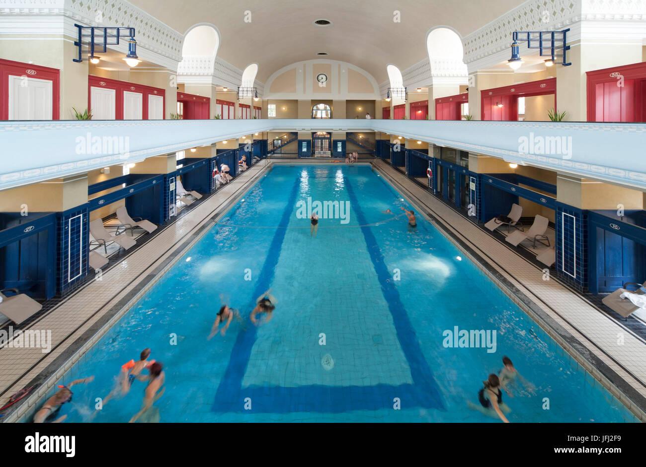 Darmstadt Swimming Pool jugendstil bath darmstadt jugendstil indoor swimming pool stock