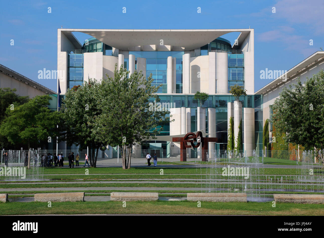 Chancellery Office of the Federal Chancellor - Stock Image