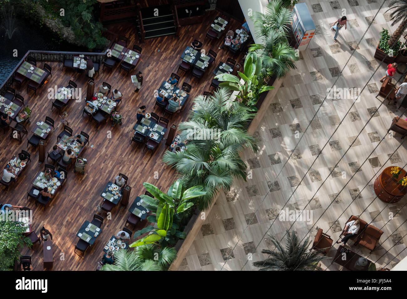 Arabia, Arabian peninsula, the Persian Gulf, United Arab Emirates (VAE), Schardscha / Sharjah, Radisson Blu Resort - Stock Image
