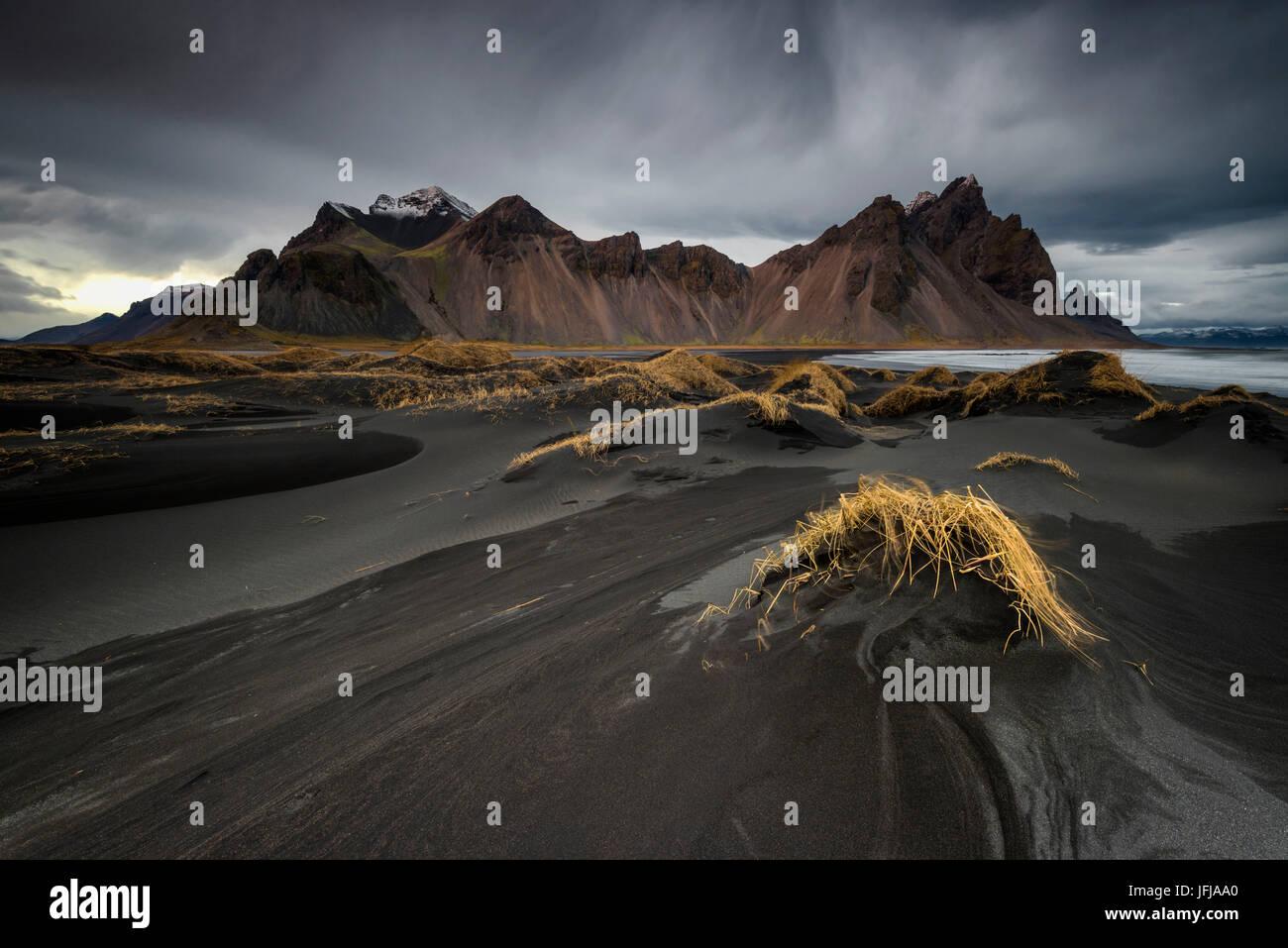 Stokksnes - Iceland - Stock Image