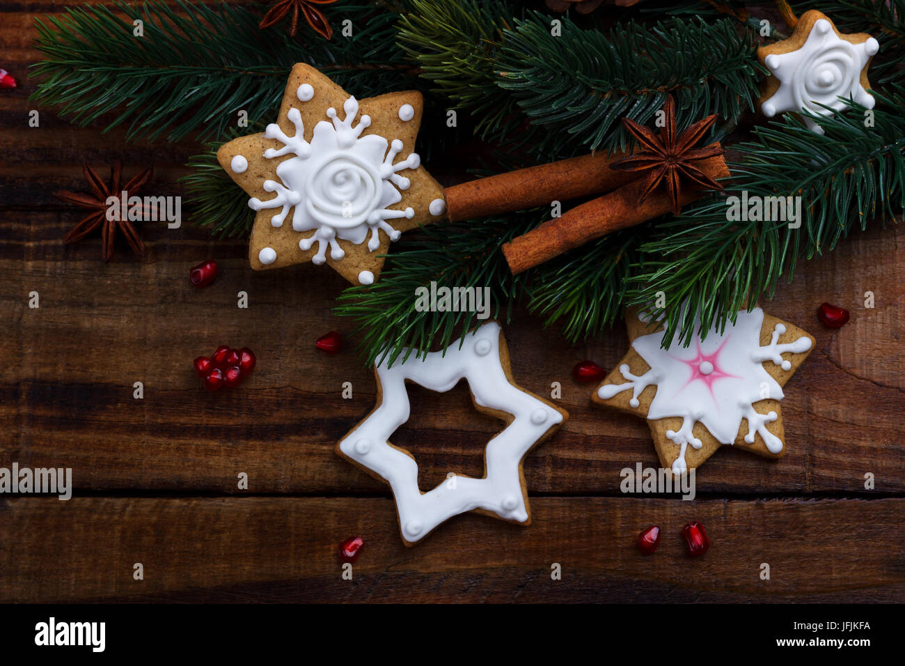christmas background concept - Stock Image