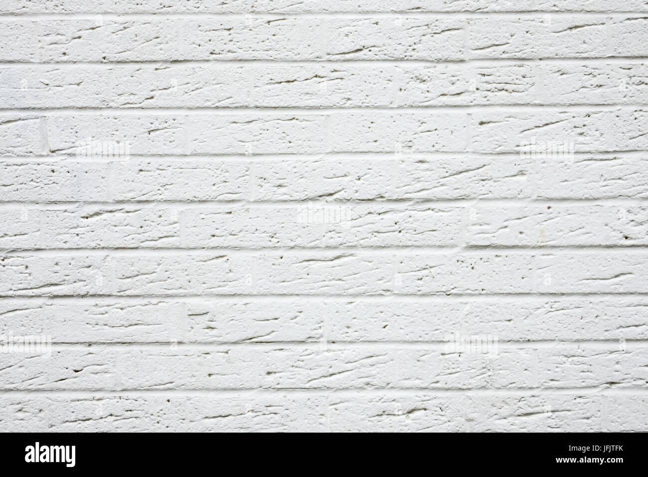 White brickwall texture Stock Photo