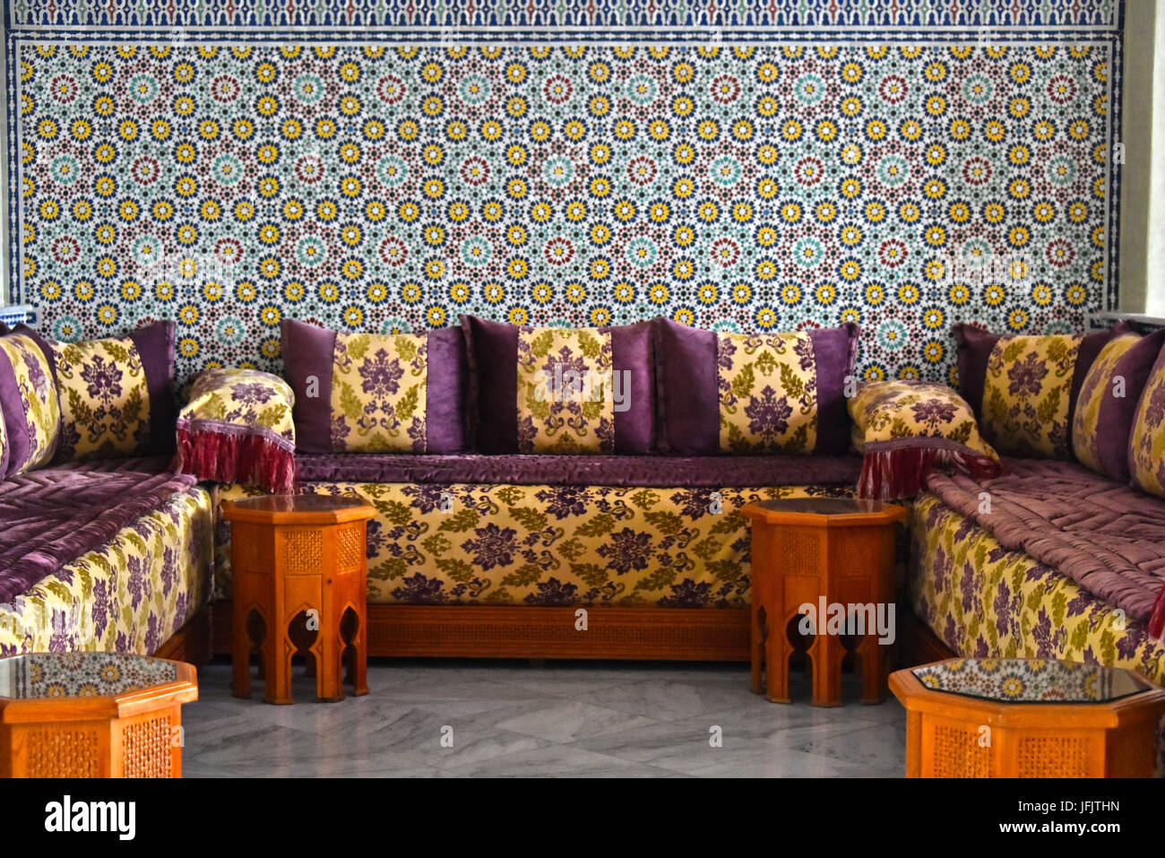 Traditional Moroccan Interior Design Stock Photo: 147317233 ...