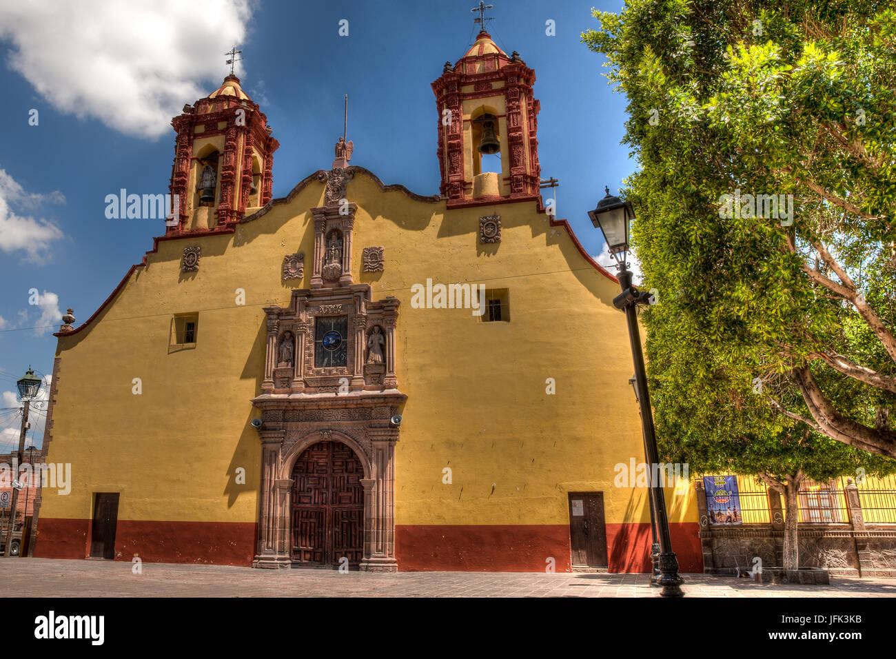 San Luis Potosi Street - Stock Image