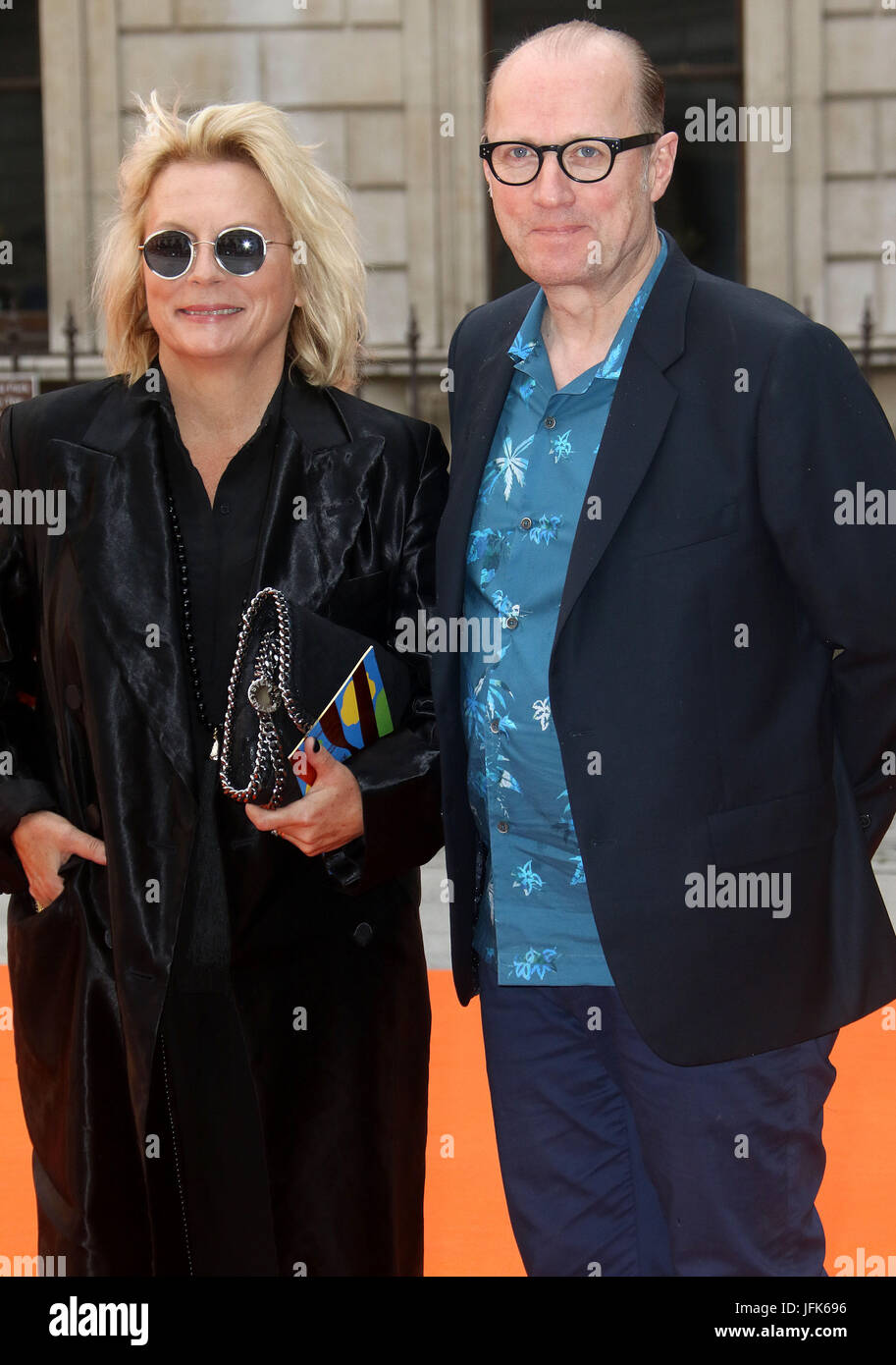 Jun 07, 2017 - Jennifer Saunders and Ade Edmondson attending Royal Academy Summer Exhibition 2017 Preview Party, - Stock Image