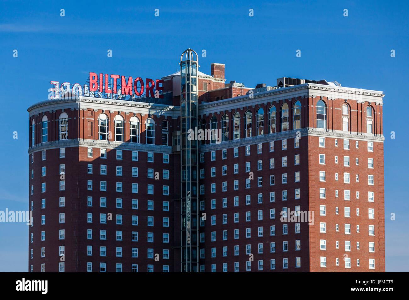 USA, Rhode Island, Providence, The Biltmore Hotel - Stock Image