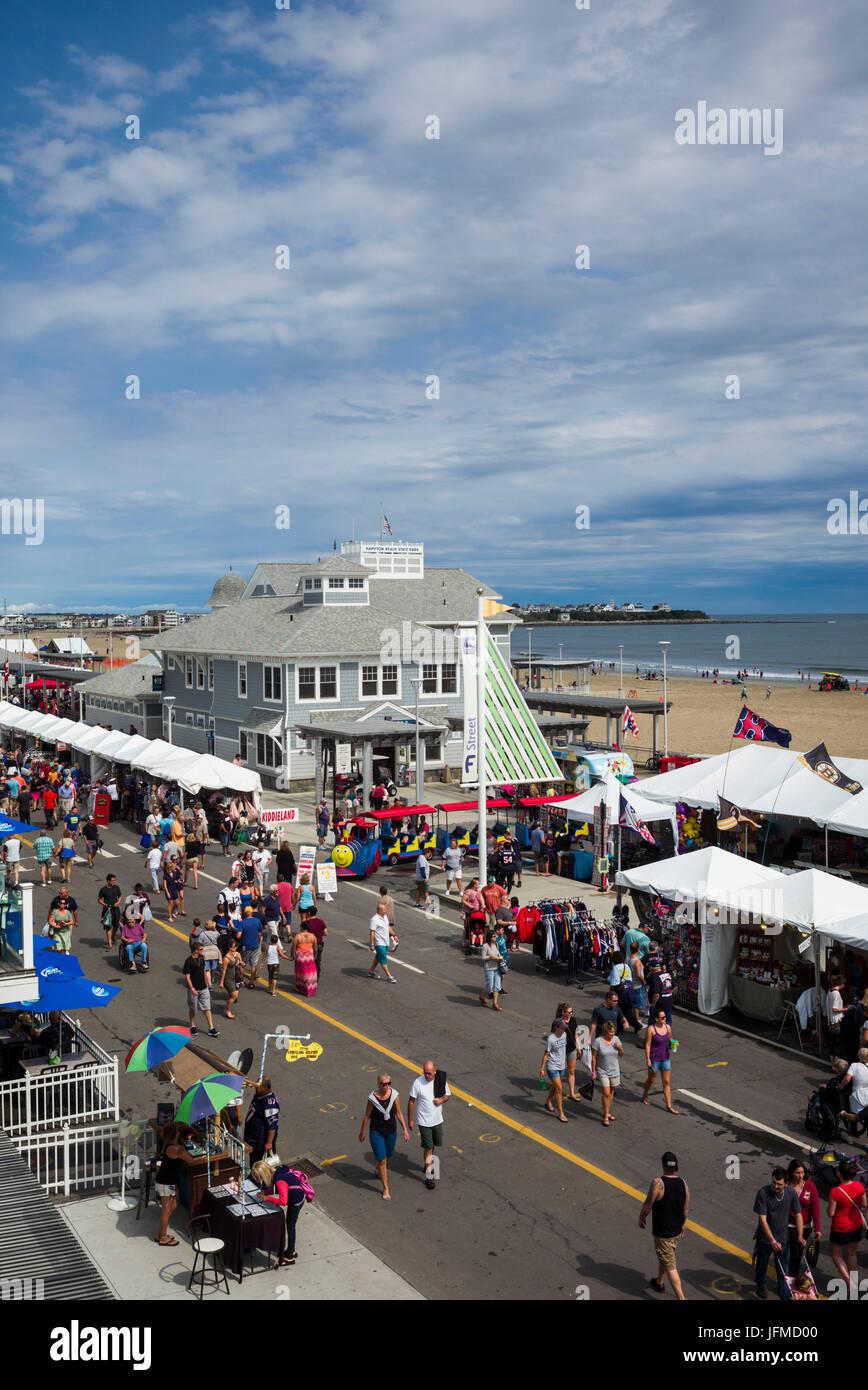 USA, New Hampshire, Hampton Beach, Hampton Beach Seafood