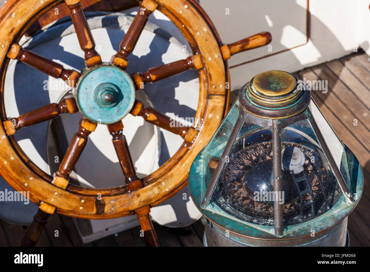 Ships Wheel Stock Photos Amp Ships Wheel Stock Images Alamy