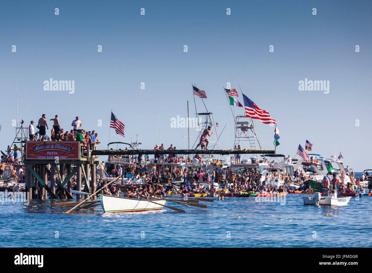 USA, Massachusetts, Cape Ann, Gloucester, St  Peter's Fiesta