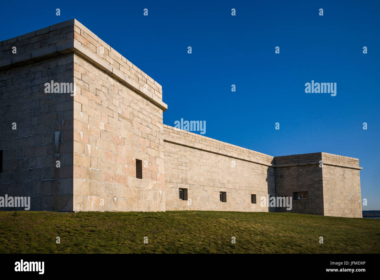 USA, Connecticut, New London, Fort Trumbull - Stock Image