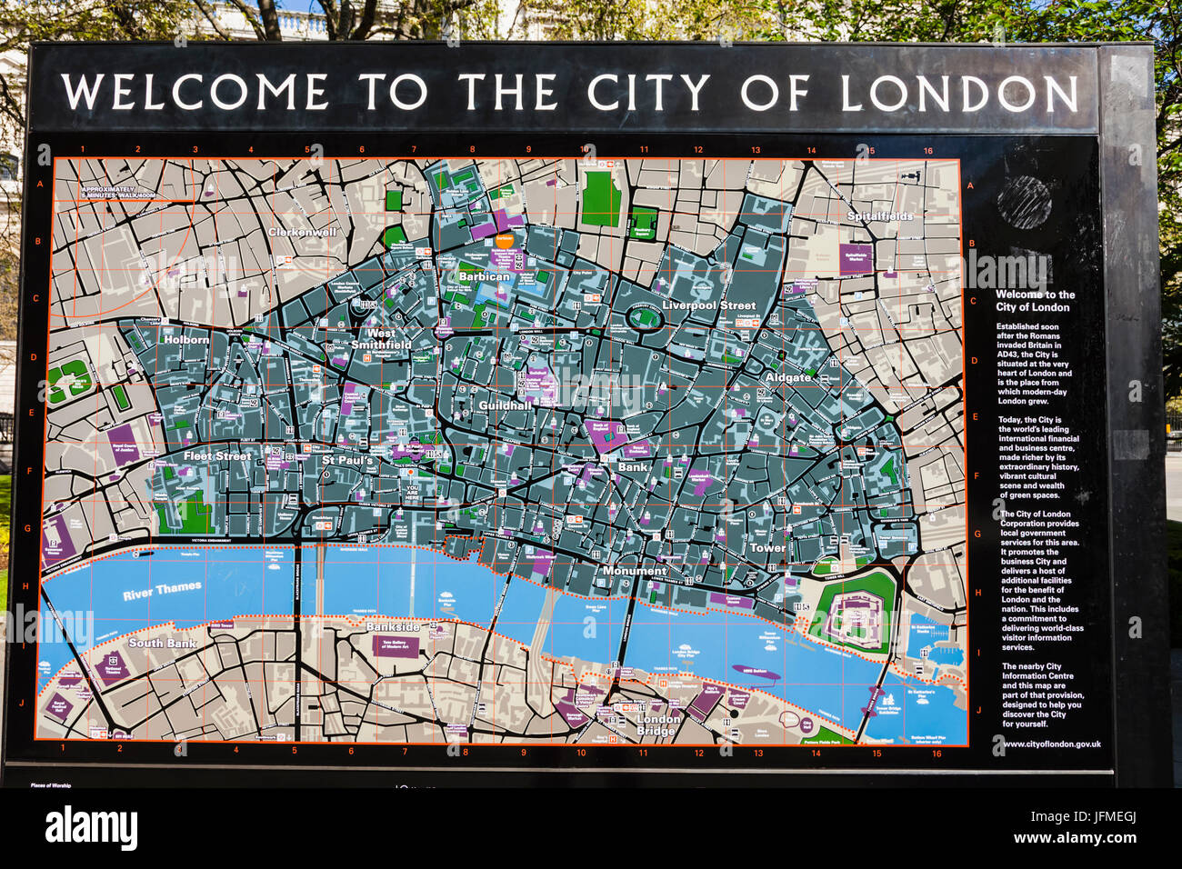 england london city of london street map