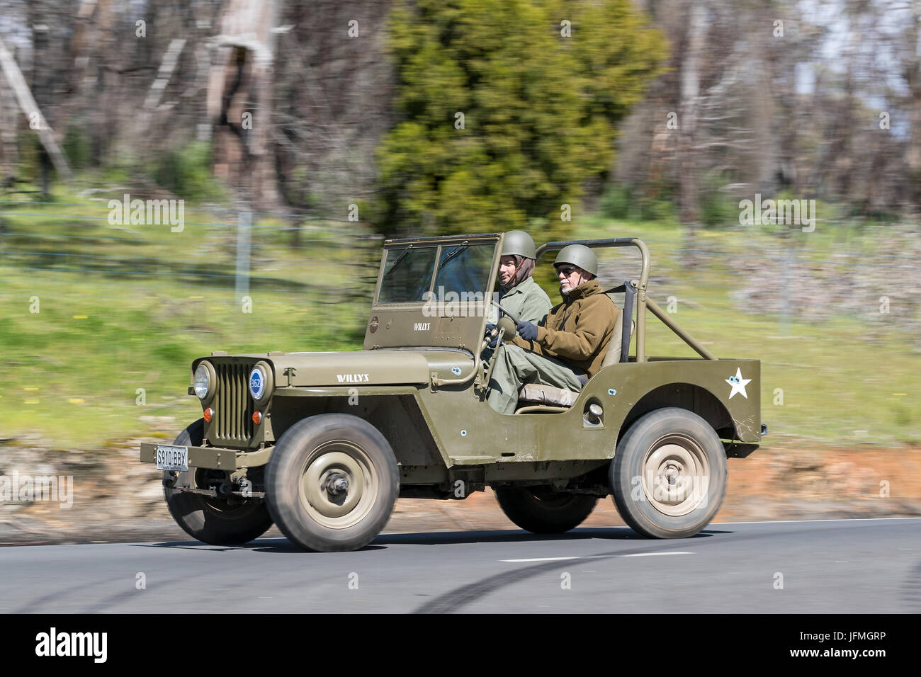 vintage-1946-willys-cj2a-jeep-driving-on