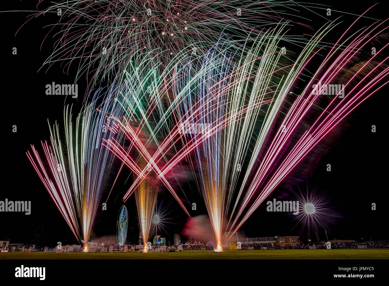 Mr Fire Works - Stock Image