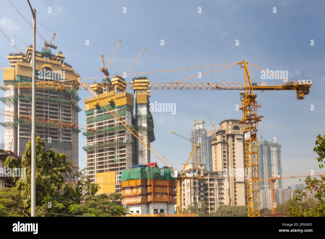 High Rise Building India Stock Photos & High Rise Building ...